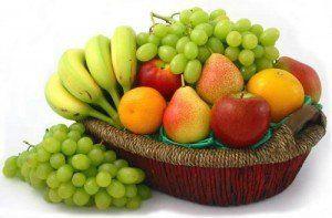consumul de fructe
