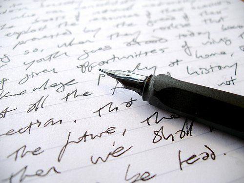 scrisul de mana