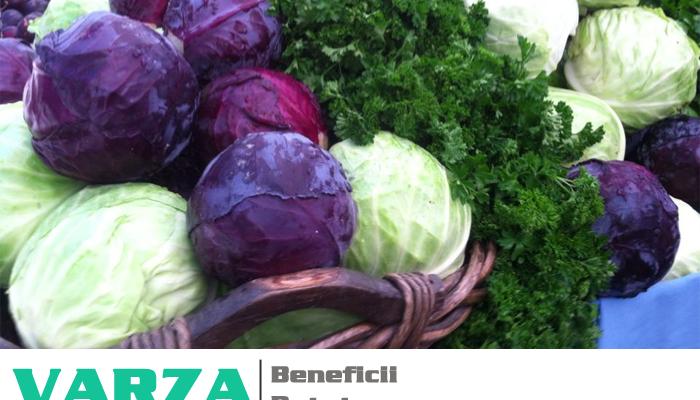 Varza de toamna – beneficii, vitamine, minerale si retete simple