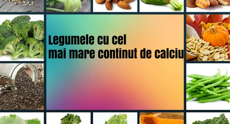 8 alimente bogate in calciu
