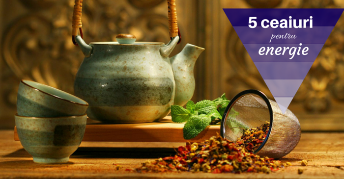 5 ceaiuri energizante: alternative sanatoase pentru cafea