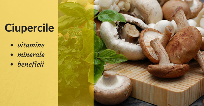 vitamine si minerale ciuperci