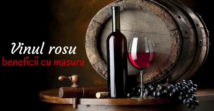 vin rosu beneficii