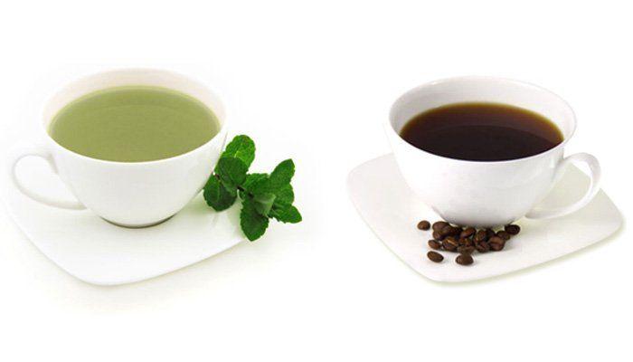 cafea vs ceai