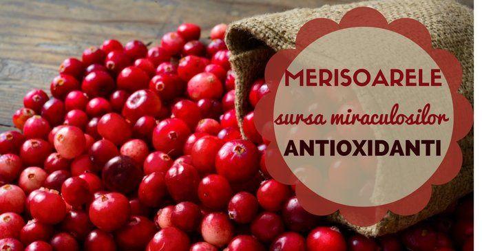 Merisoarele, sursa miraculosilor antioxidanti – 10 beneficii surprinzatoare