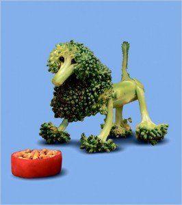 sculpturi in fructe si legume