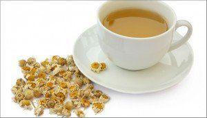 ceasca de ceai de musetel