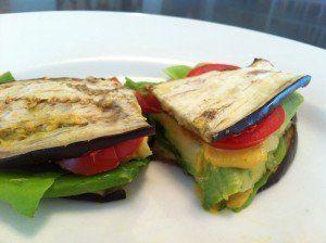 sandvis cu felii de vanata
