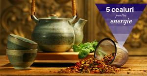 5 ceaiuri energizante