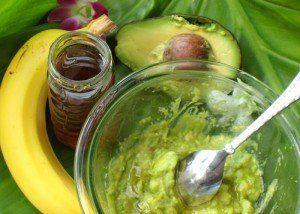 balsam de par cu avocado si banana